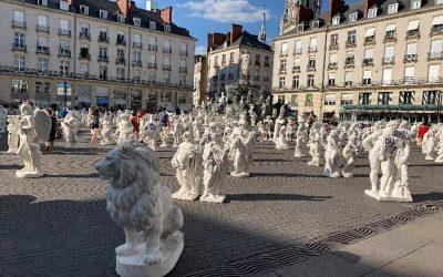 Installation de sculptures au cœur de Nantes – Le Voyage à Nantes