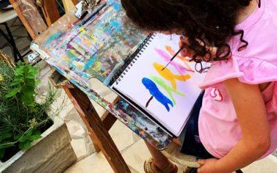 Stage dessin et peinture pour enfants été 2020